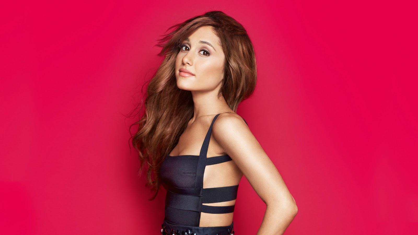 Ariana grande in black dress hd wallpaperstillphotoshoot full hd ariana grande download ariana grande wallpaper voltagebd Choice Image