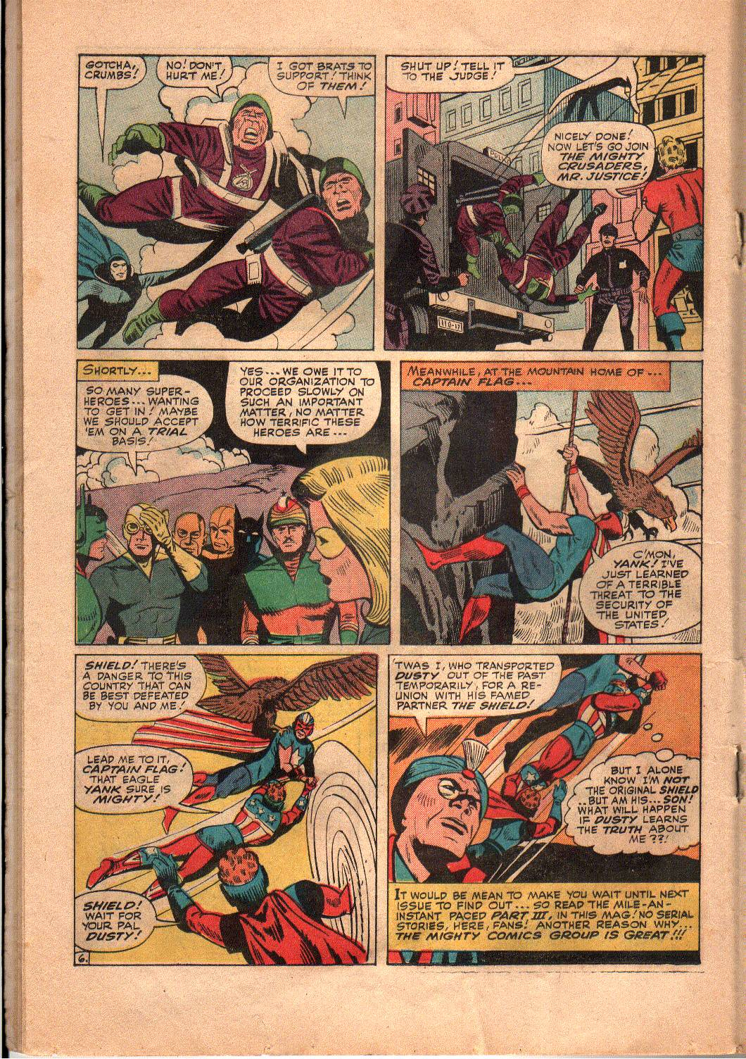 The Mighty Crusaders (1965) Issue #4 #4 - English 15