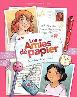 Les Amies de papier Tome 1 - Le cadeau de nos 11 ans