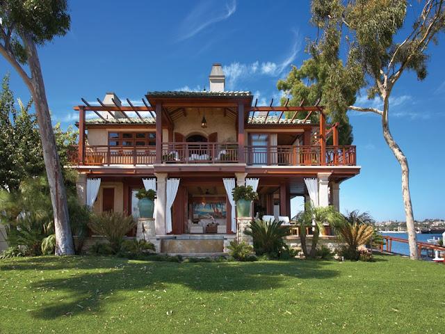 garage sale marketing ideas - ciao newport beach dream house tour on the bay
