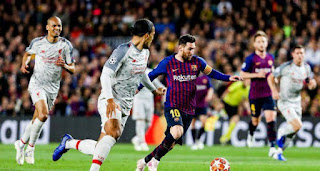 برشلونة يسحق ليفربول ويقترب من نهائي الأبطال