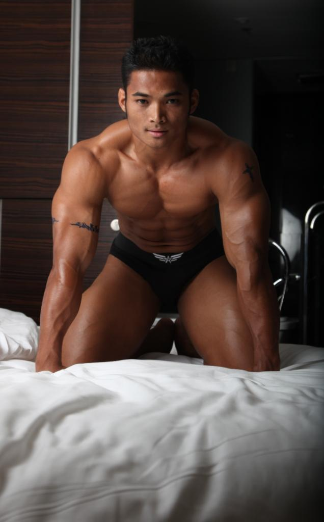 Asian muscle men nude sorry, that