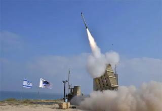 Sistem Rudal Iron Dome Israel