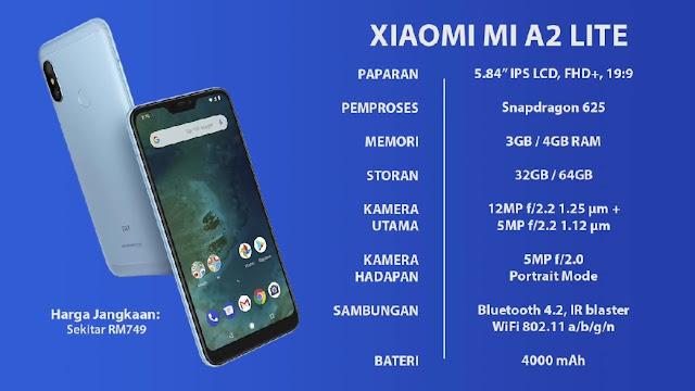 Xiaomi MiA 2 lite