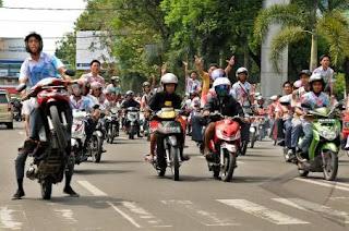Cara Jitu Cegah Konvoi, SMA/SMK Jelang Magrib