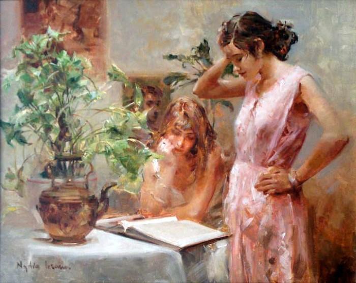 Масляная живопись. Nydia Lozano 3