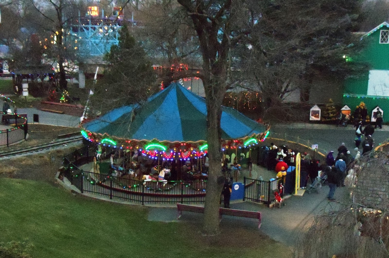 Frying Pan Farm Park Carousel