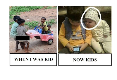 Kids Then VS Now