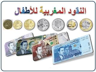 النقود المغربية كوسيلة ديداكتيكية للتلاميذ