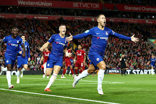 Eden Hazard's solo goal seals Chelsea's win against Liverpool in style