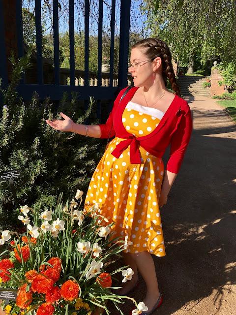 pinup girl clothing golightly yellow netti dress