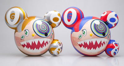 Takashi Murakami's Mr DOB Figure by BAIT x SWITCH Collectibles – Original Edition & Gold Edition
