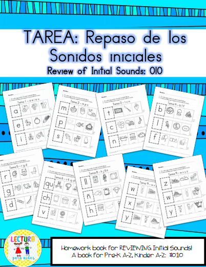 Mommy Maestra: Free Download: Beginning Sounds Review in Spanish