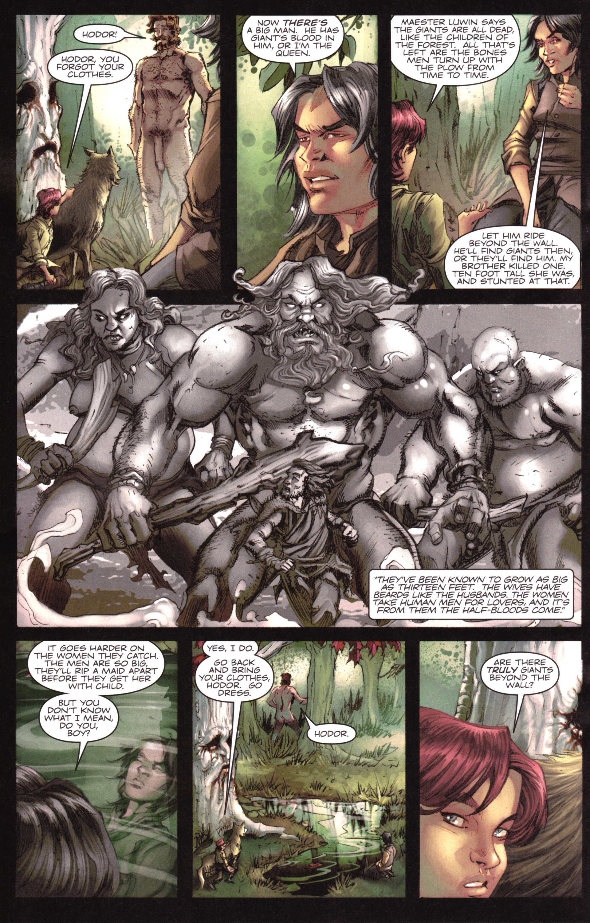 Read online A Game Of Thrones comic -  Issue #17 - 20