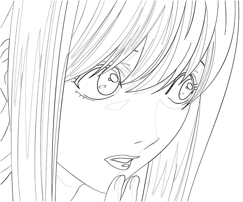 deathnote coloring pages - photo#40