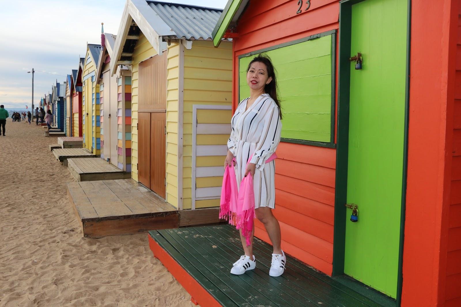 melbourne beach huts