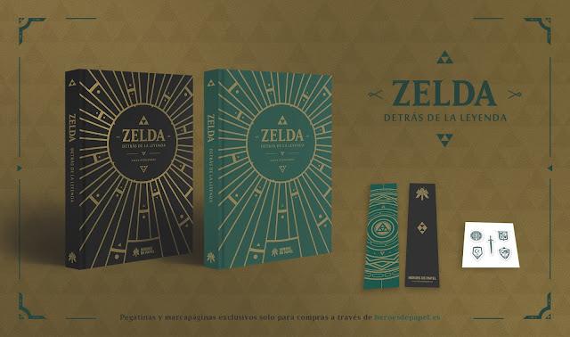 Se anuncia el libro Zelda, detrás de la leyenda, un tributo a una saga de videojuegos icónica
