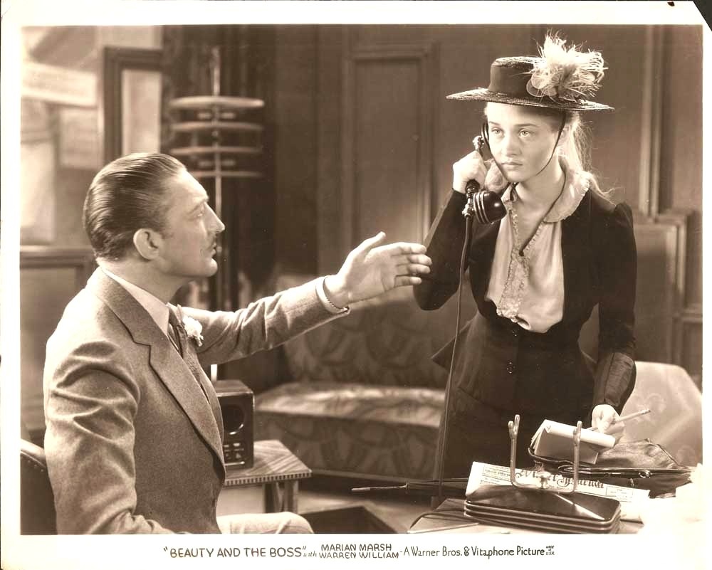 Classic Old Movie : Beauty And The Boss 1932