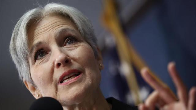 Stein impediría que gobierne Trump pidiendo recuento de votos