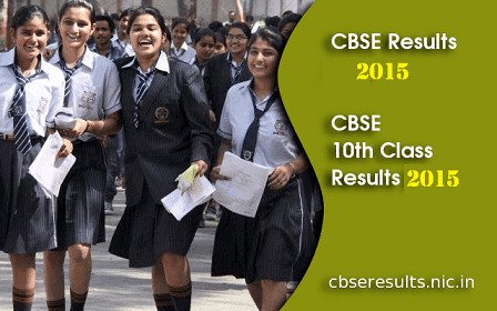 CBSE 10th Class Results 2015 School Wise and Name Wise