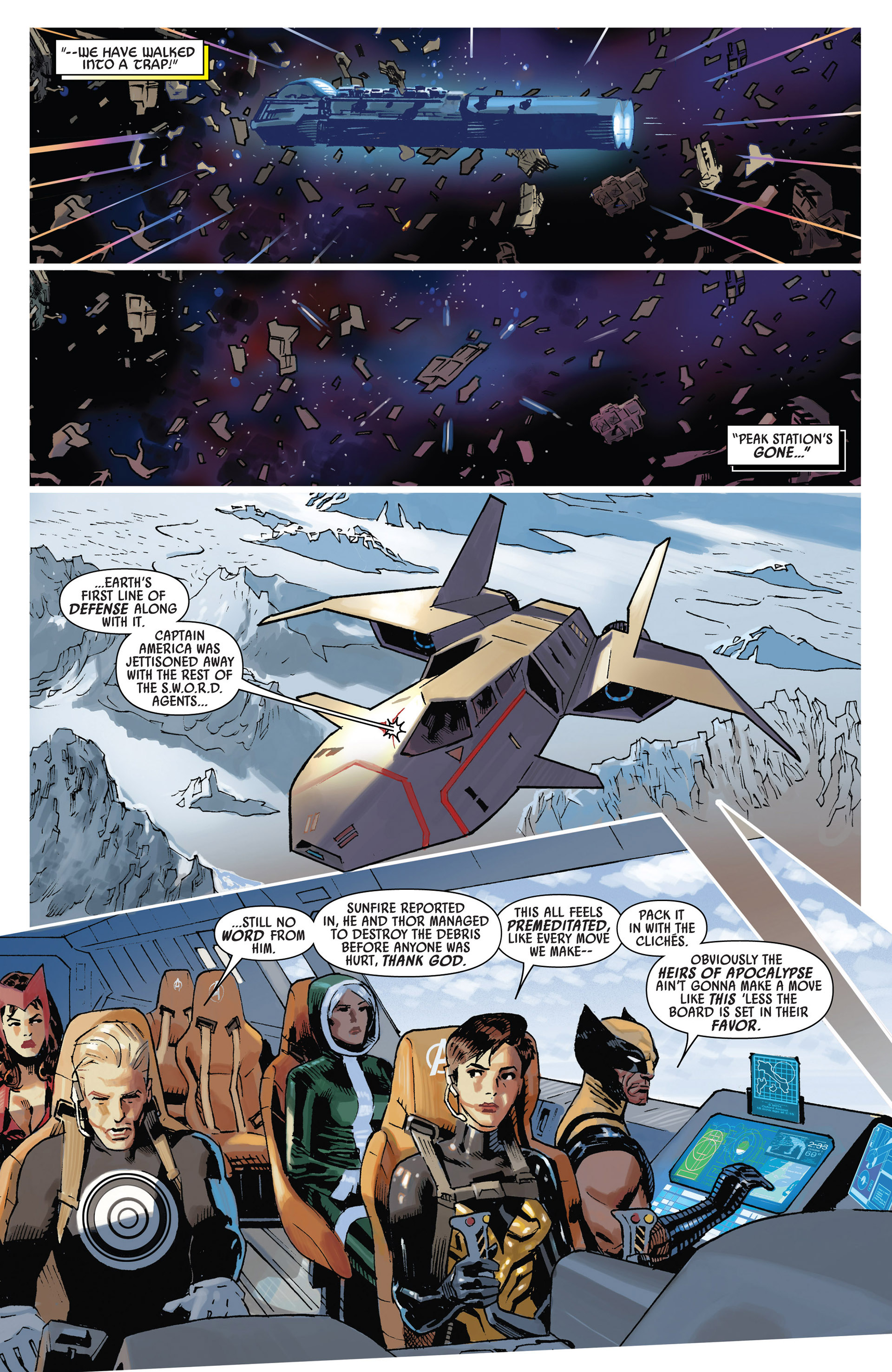 Read online Uncanny Avengers (2012) comic -  Issue #8 - 8