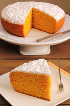 Torta de zanahoria y canela