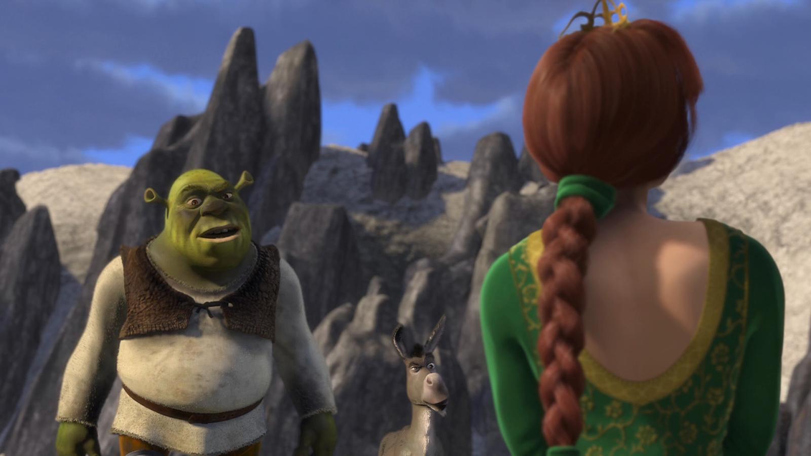 Shrek (2001) BRRip Full HD 1080p Latino - Ingles captura 4