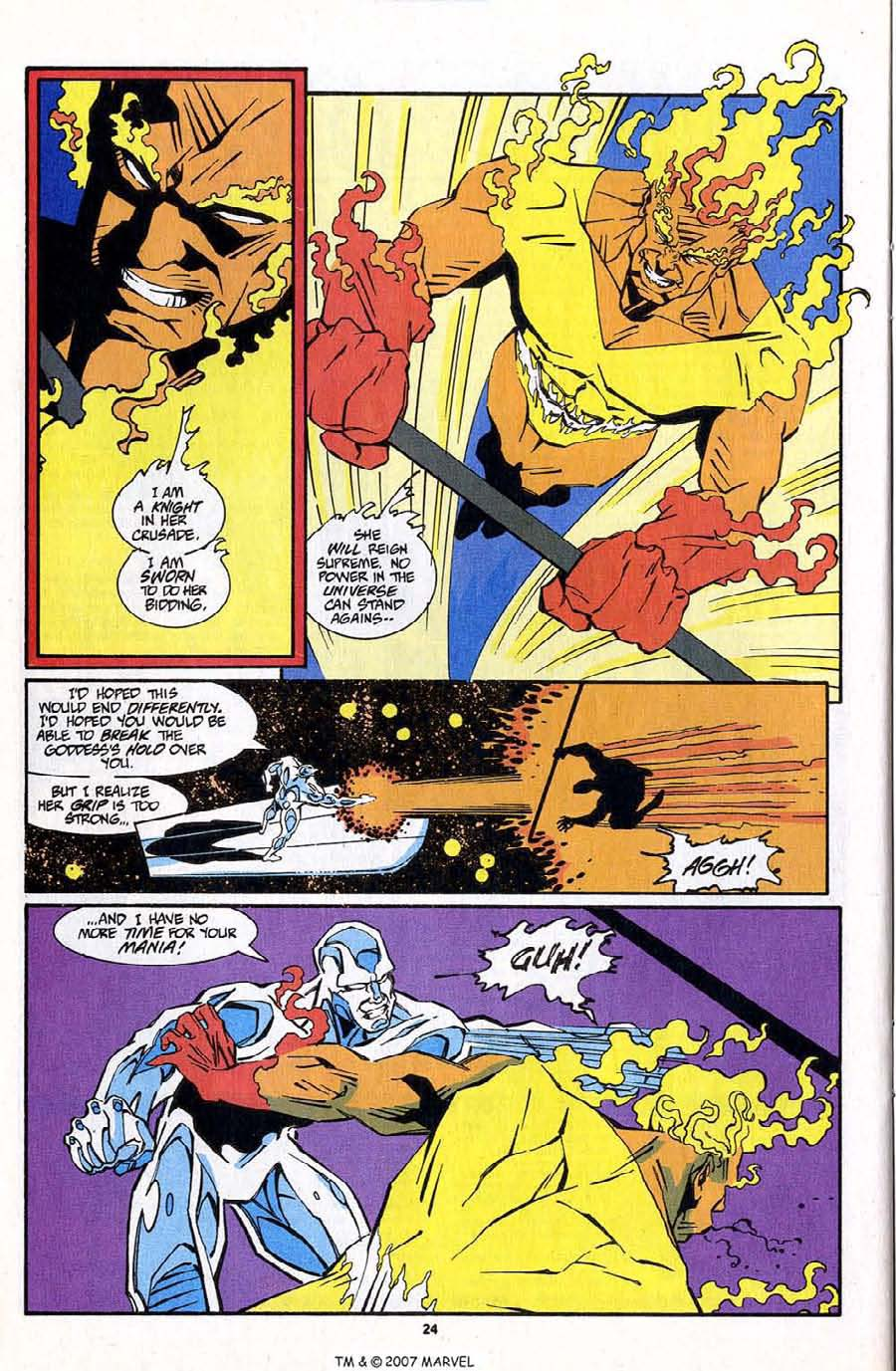 Read online Silver Surfer (1987) comic -  Issue #83 - 26
