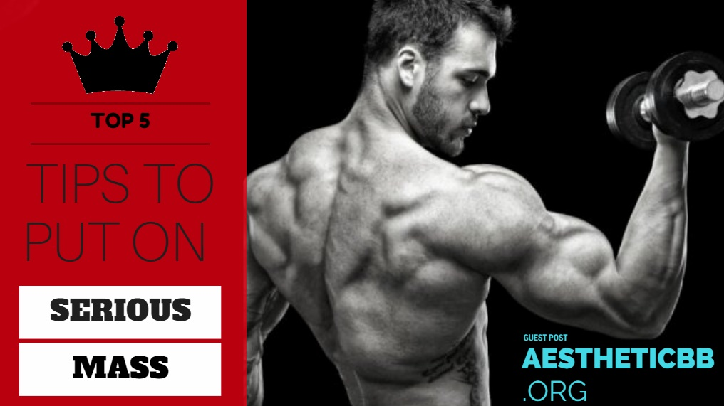 Top 5 Tips to Put on Serious Mass - AESTHETIC BODYBUILDING