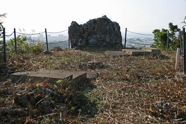 保栄茂グスクの頂上の写真