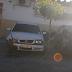 Carro colide em outro no centro de Cajazeiras nos primeiros minutos desse domingo