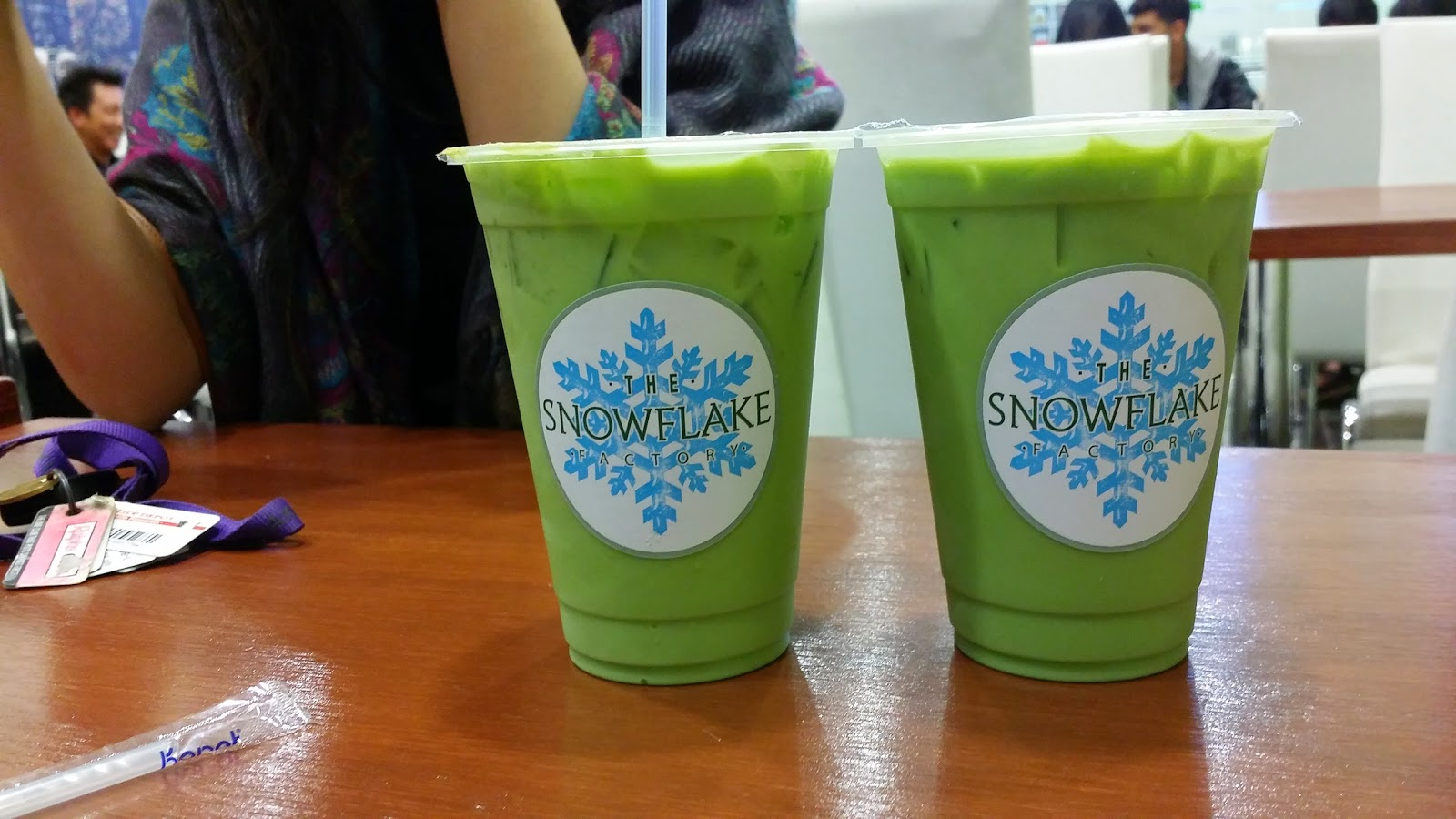 WHY THE SNOWFLAKE FACTORY IS MY NEW FAVORITE SPOT FOR GREEN THAI TEA (JASMINE THAI TEA) @ THE SNOWFLAKE FACTORY - GARDEN GROVE