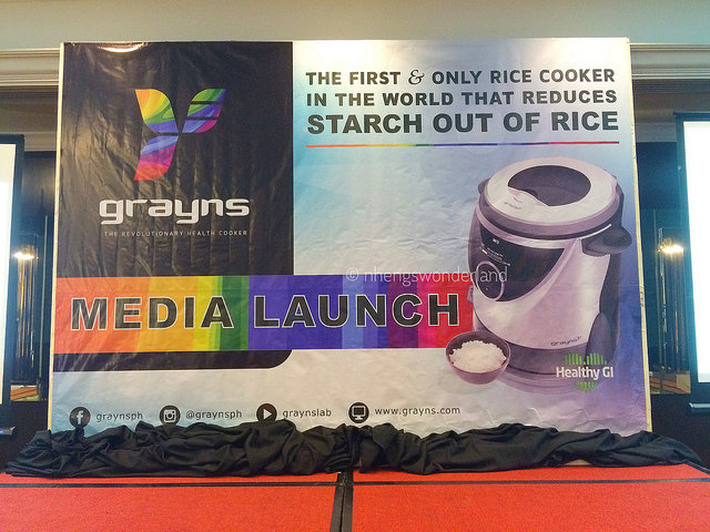 Grayns Rice Cooker Media Launch