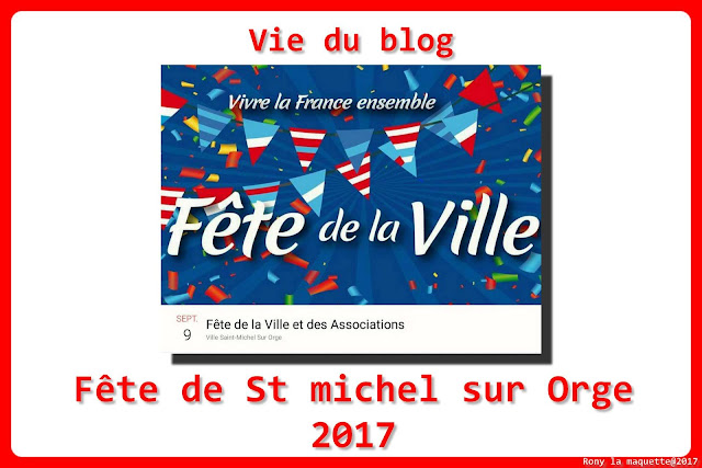 Fête de la ville et des associations de St Michel sur Orge