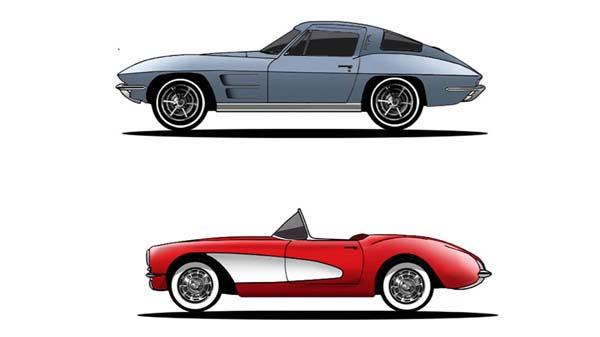 Ford Mustang, Dodge Challenger ve Chevy Corvette Değişimi
