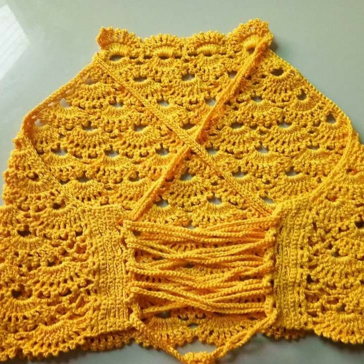 Top crochet patrones