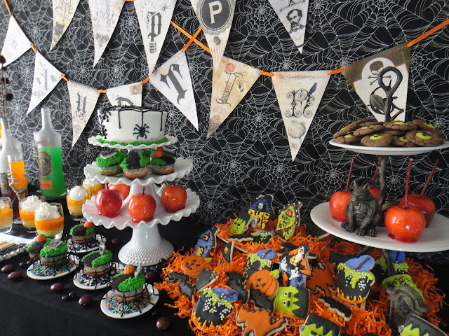 House Haunted Cupcakes Made
