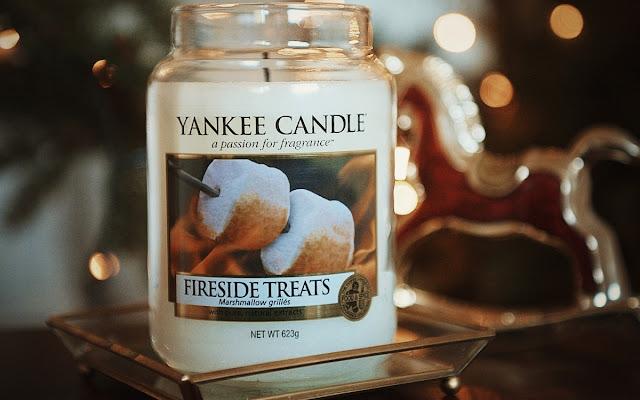 Nowa miłość! Yankee Candle Fireside Treats  - Czytaj więcej »