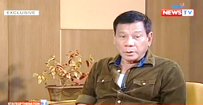 Duterte finally speaks on religion. He is a theist