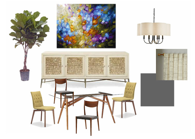 Modern mid-century dining room design ideas