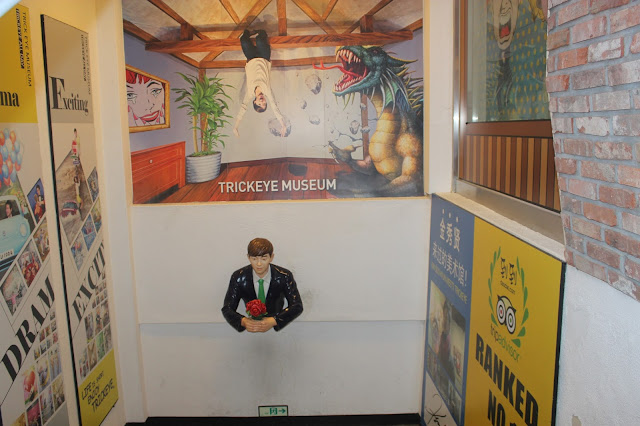 Enter the World of Imagination at Seoul's Trickeye Museum