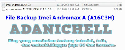 File Backup Imei Andromax A (A16C3H)