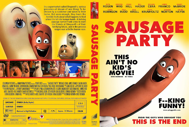 Sausage Party DVD Cover
