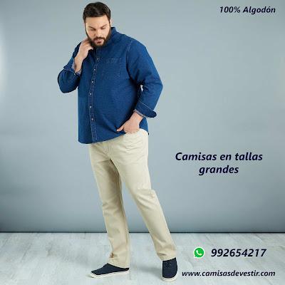 Camisas tallas grandes Cajamarca