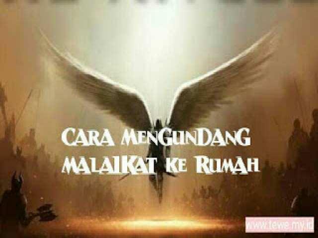 Mengundang malaikat ke Rumah