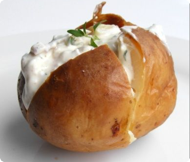 Λαχταριστές γεμιστές πατάτες φούρνου ೋ═ೋ