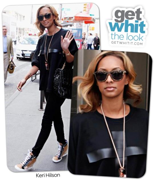 Keri Hilson NYC Street Style | Get WHIT It