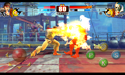 Screenshot: Street Fighter 4 HD Apk