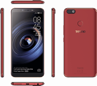 Tecno camon x pro features design