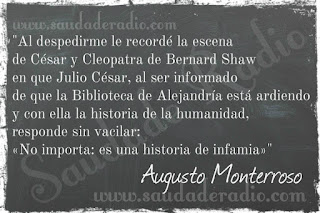 Cita del libro La letra E de Augusto Monterroso